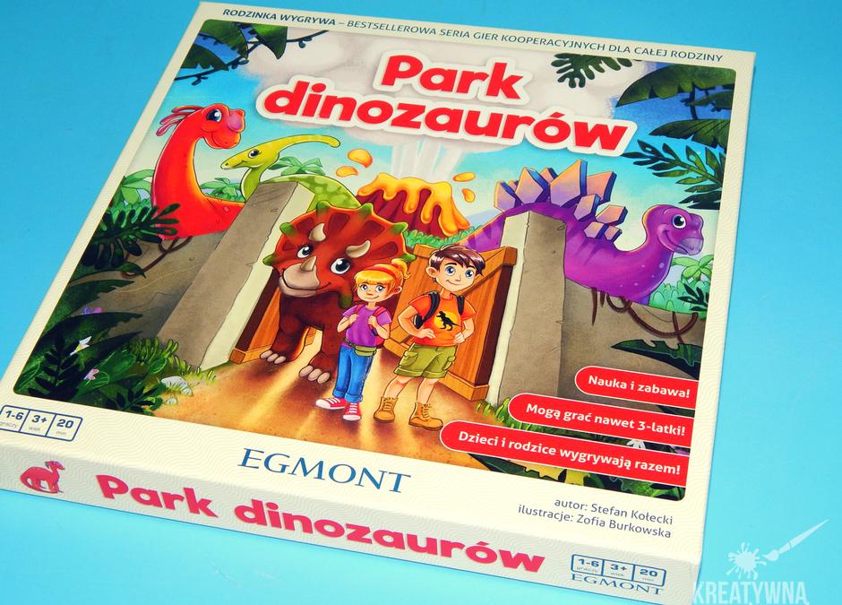 """Gry dla dzieci: """"Park dinozaurów"""""""