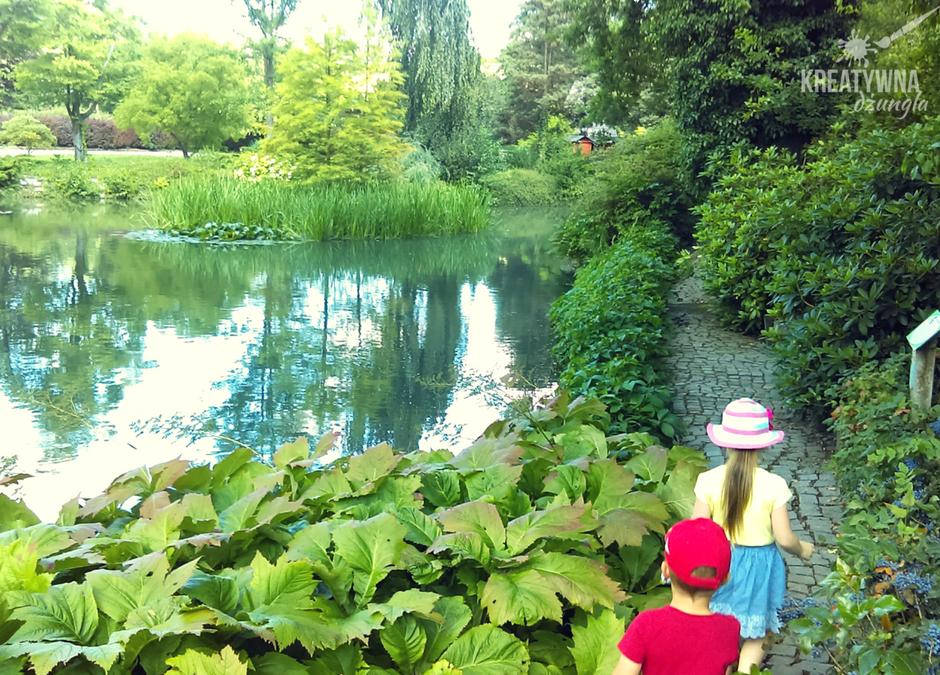 Arboretum w Wojsławicach- piękna rodzinna wycieczka