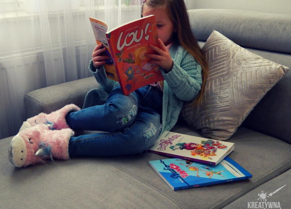 Bestsellerowe komiksy dla dziewczyn