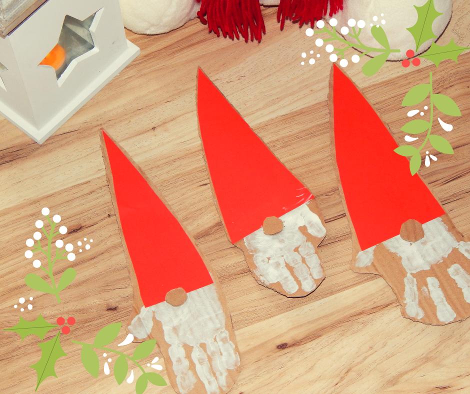 Świąteczny skrzat- proste DIY dla dzieci