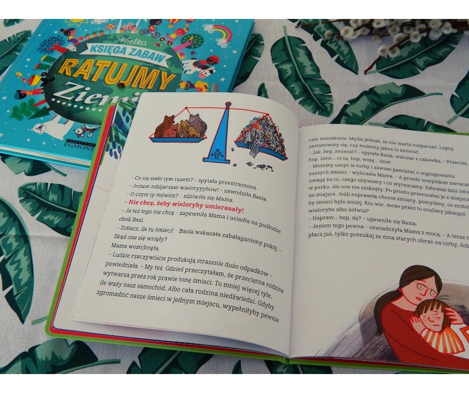 książki dla dzieci oekologii