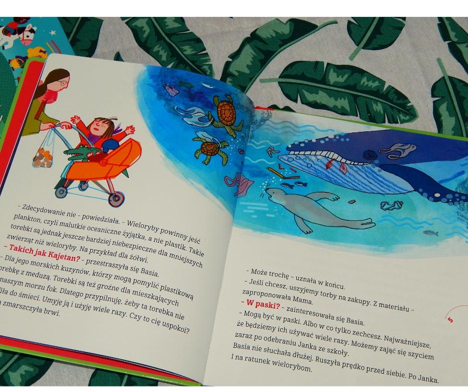 książki dla dzieci dbam oprzyrodę ekologia