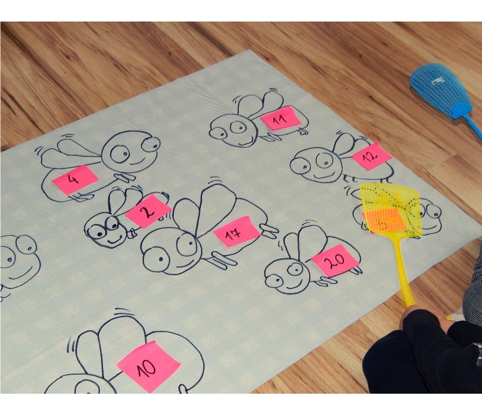 zabawa matematyczna muchy
