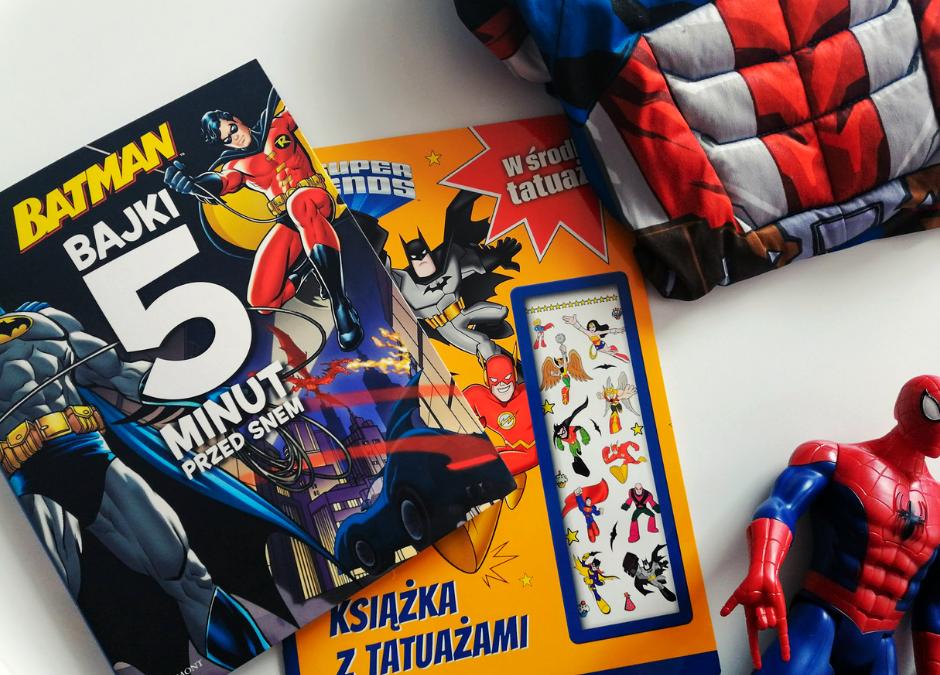 Super książki o superbohaterach