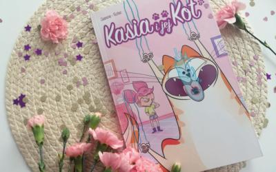 """Komiksy są super! Poznaj """"Kasia i jej kot"""""""
