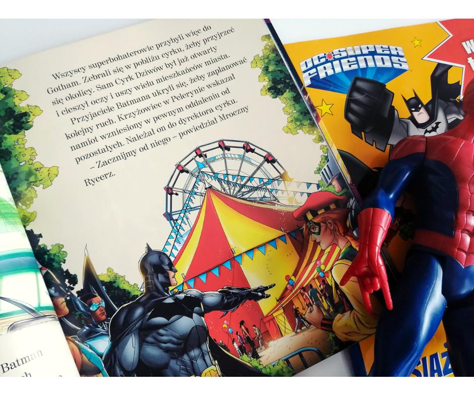 książki o superbohaterach