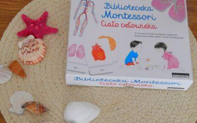 Ciało człowieka. Biblioteczka Montessori