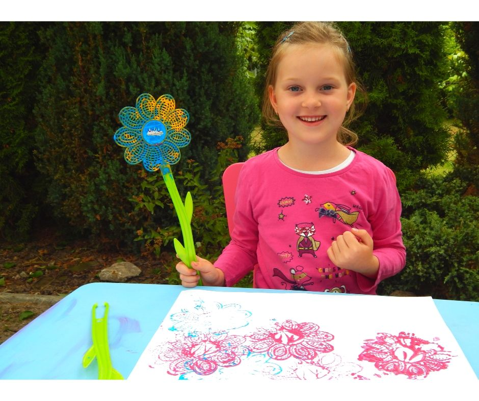 kwiaty praca plastyczna