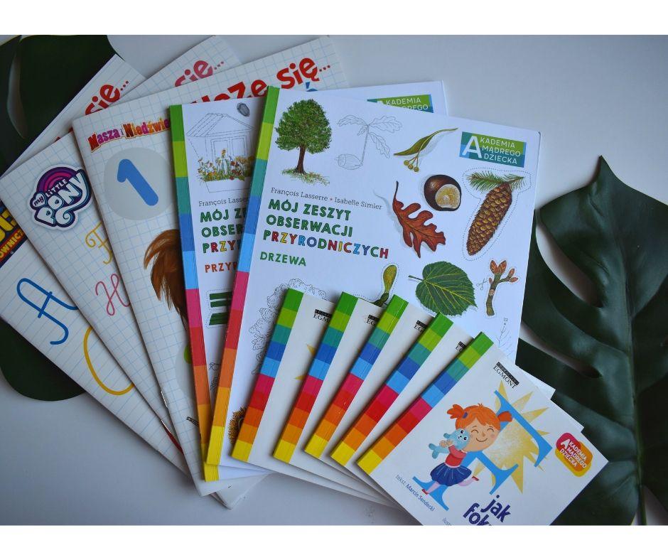 książki edukacyjne dla dzieci