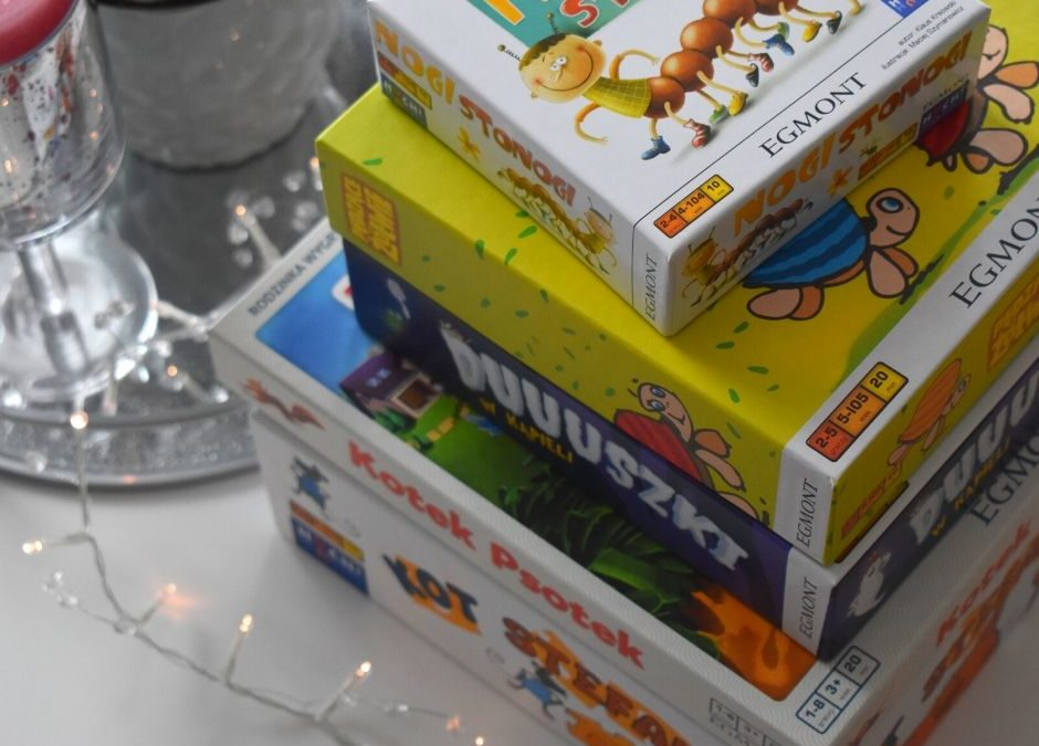 Najlepsze gry planszowe dla dzieci + prezent