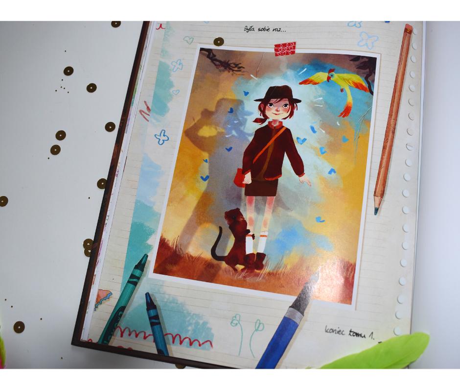 pamiętnik wisienki komiks dla dzieci