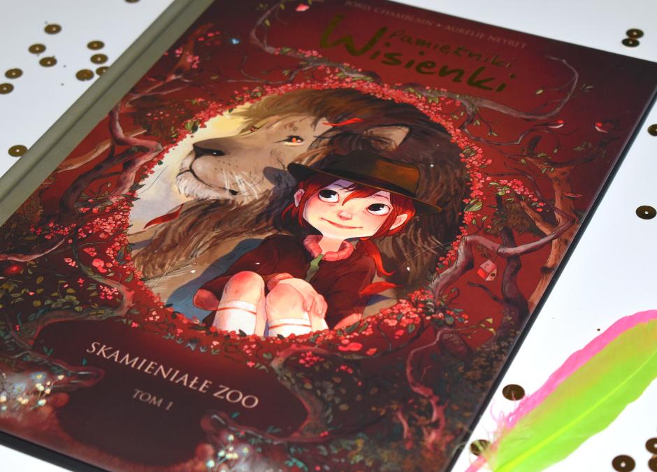 """Dziecięca czytelnia: """"Pamiętnik Wisienki. Skamieniałe zoo"""""""