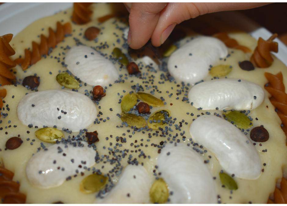 Mandala znasion idomowa ciastolina- jak zrobić
