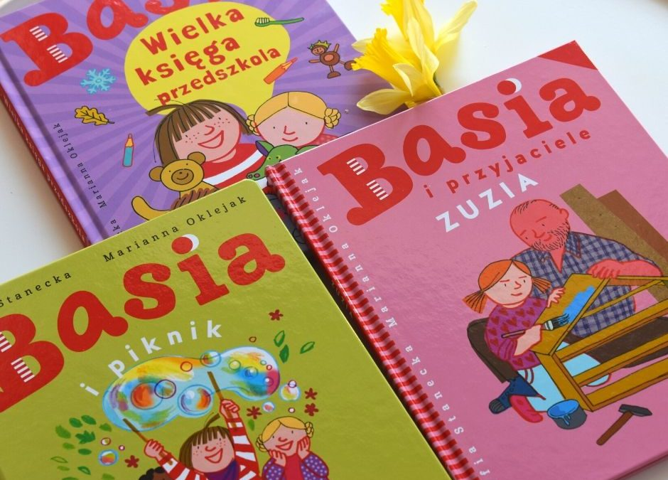 """Dziecięca czytelnia: """"Basia"""" (nowości zserii)"""
