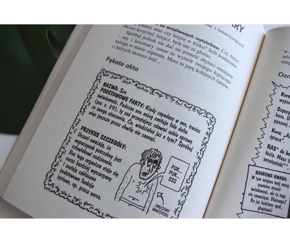 książki edukacyjne monstrualna