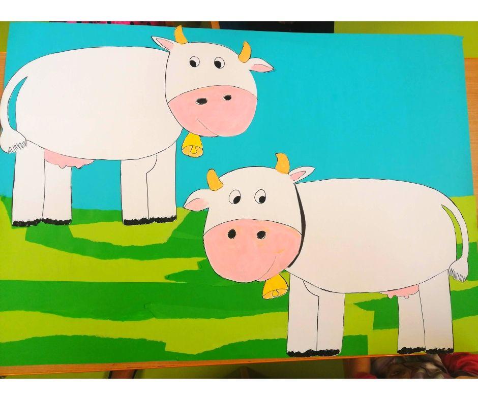 krowa praca plastyczna