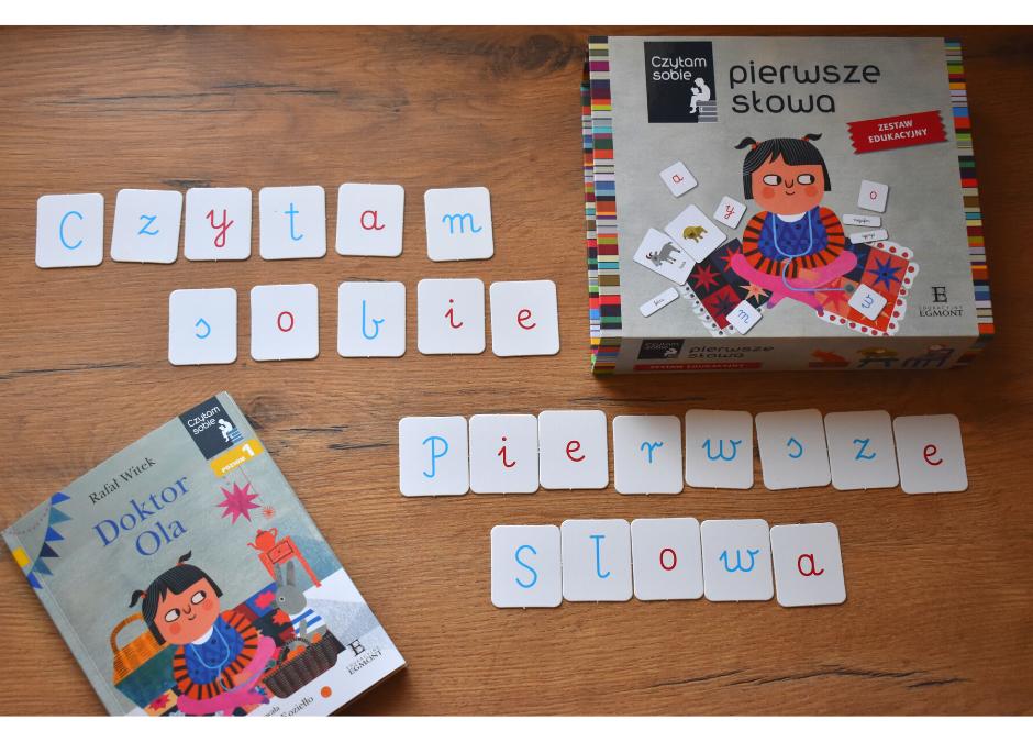 Nauka czytania dla dzieci- zestaw edukacyjny