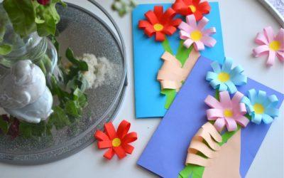 Laurka dla mamy- bukiet kwiatów