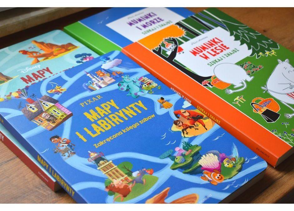Książki aktywizujące dla przedszkolaka
