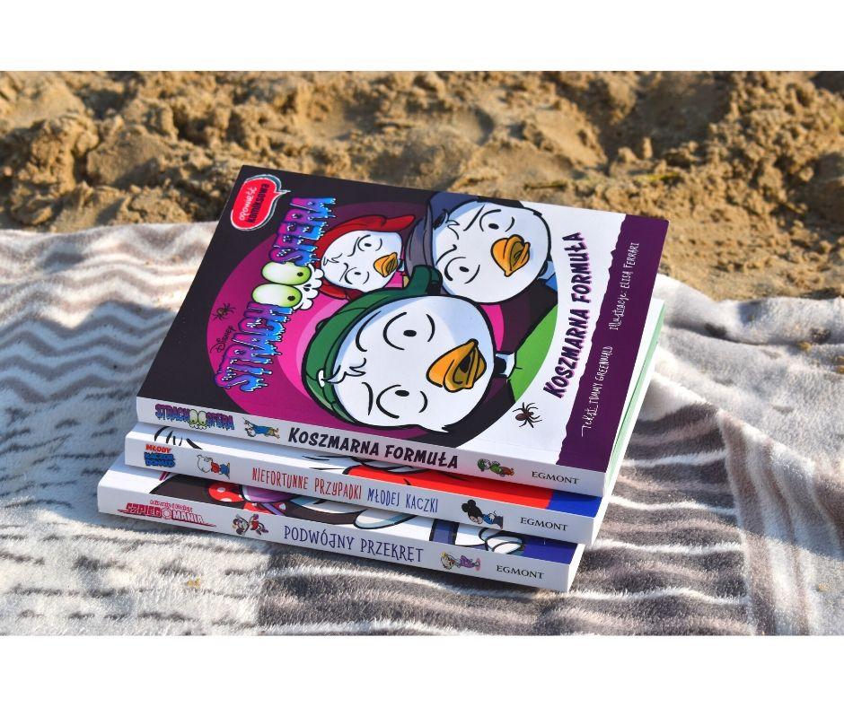 opowieść komiksowa książki nawakacje kaczor donald komiks