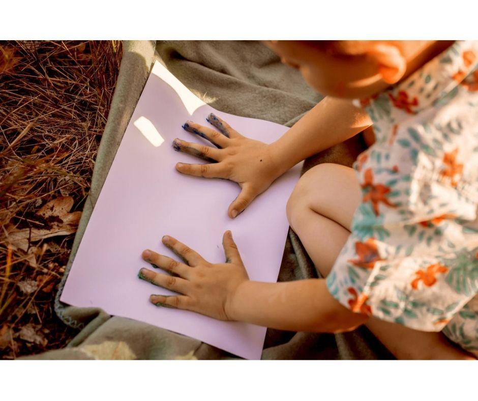 malowanie farbami pomysły naprace plastyczne dla dzieci
