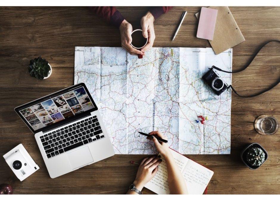 podróż planer lista marzeń