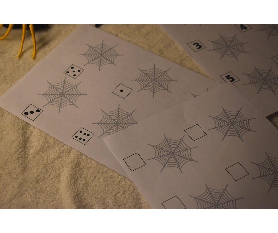 karty pracy dodruku zabawy matematyczne