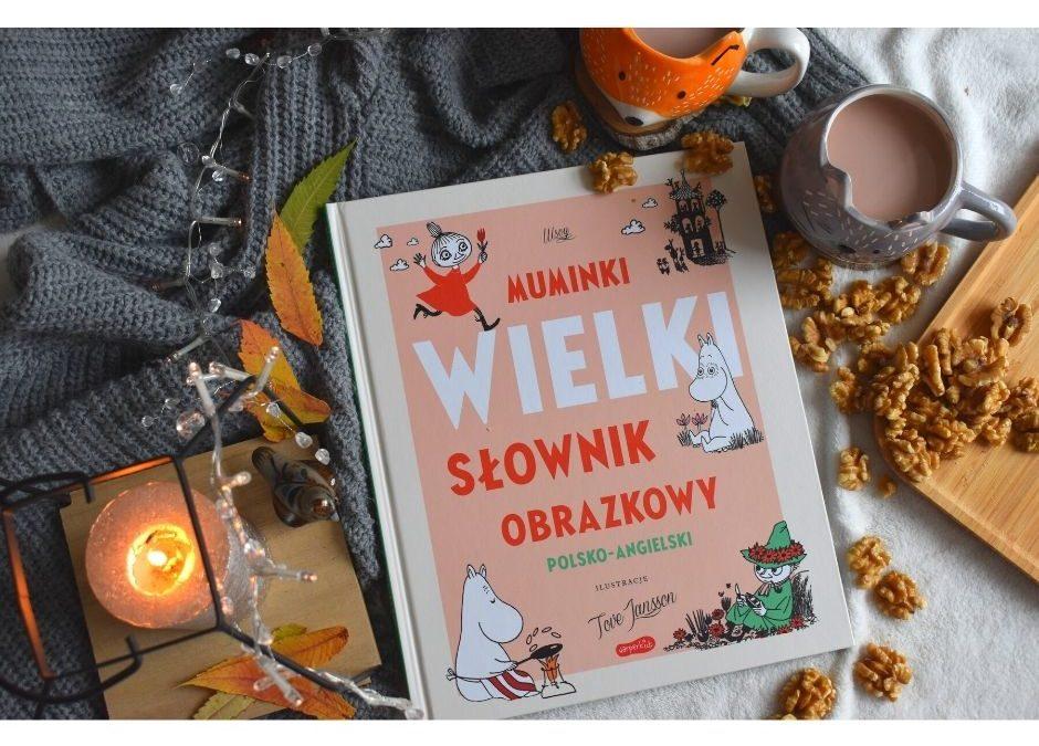 Muminki- książka dla dzieci donauki angielskiego