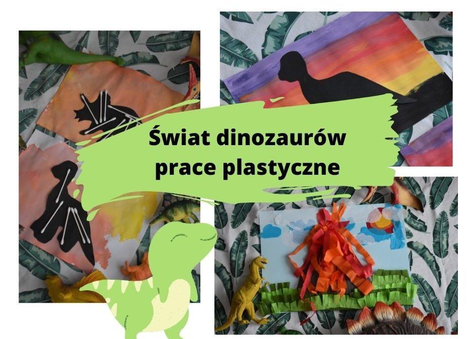 Dinozaury- 3 pomysły naprace plastyczne