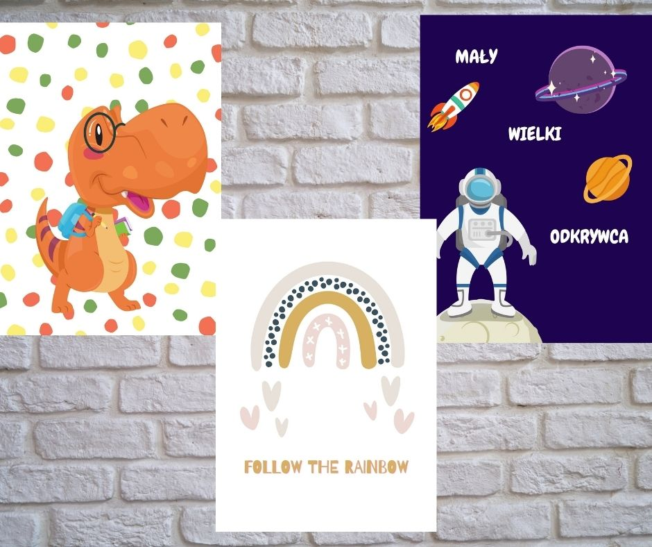 plakaty dopokoju dziecięcego darmowe
