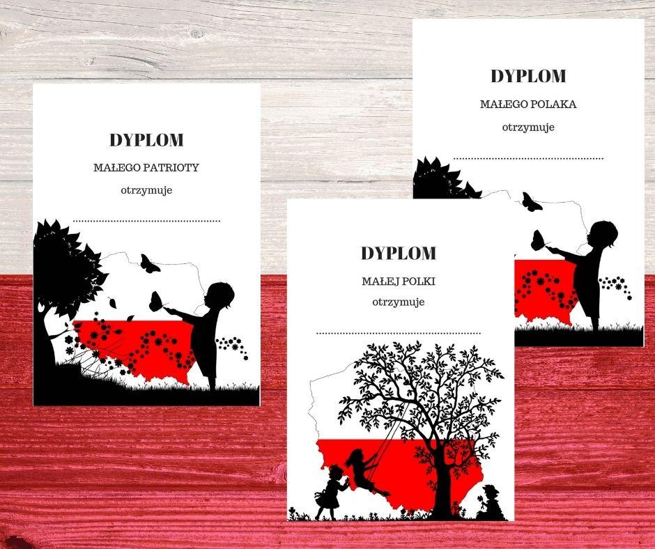 polska prace plastyczne symbole