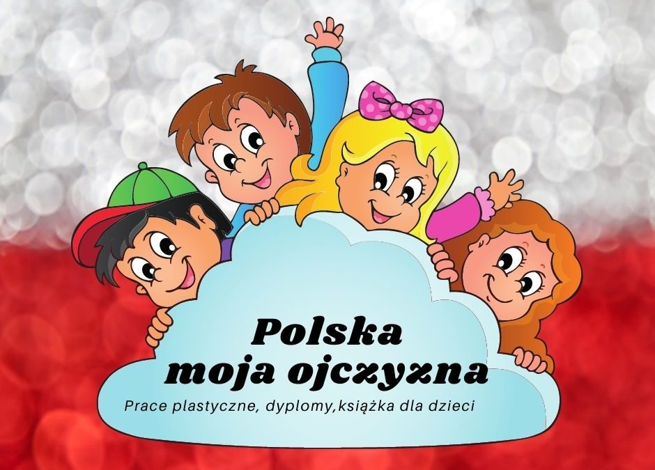 polska prace plastyczne symbole narodowe przedszkole