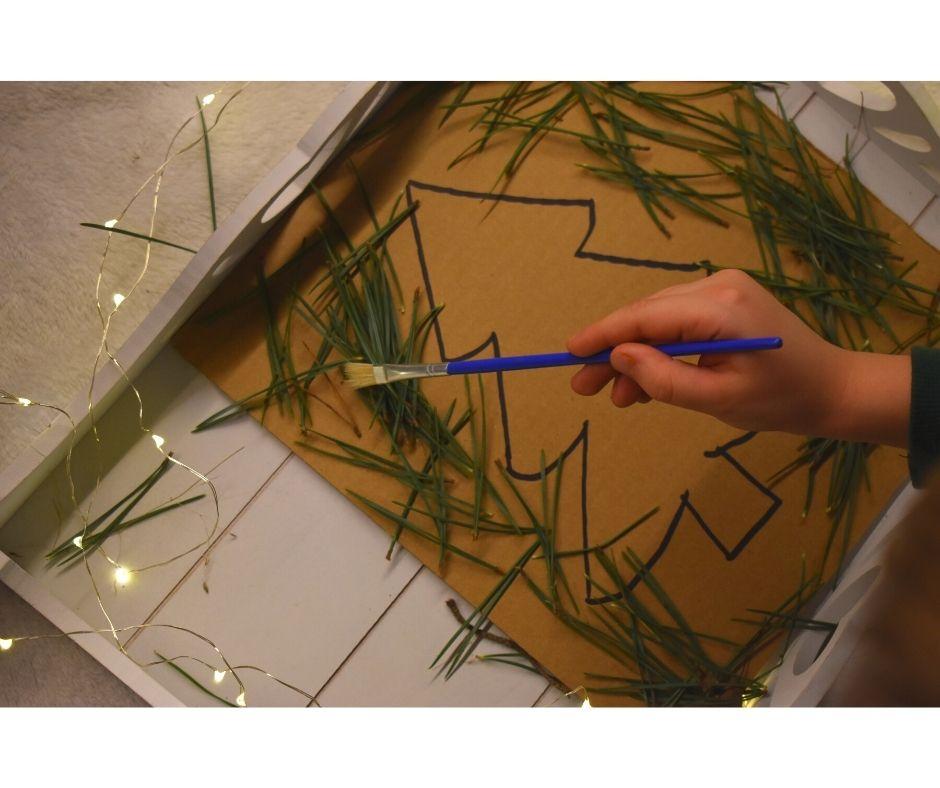 choinka dla dzieci pomysły zabawy prace plastyczne