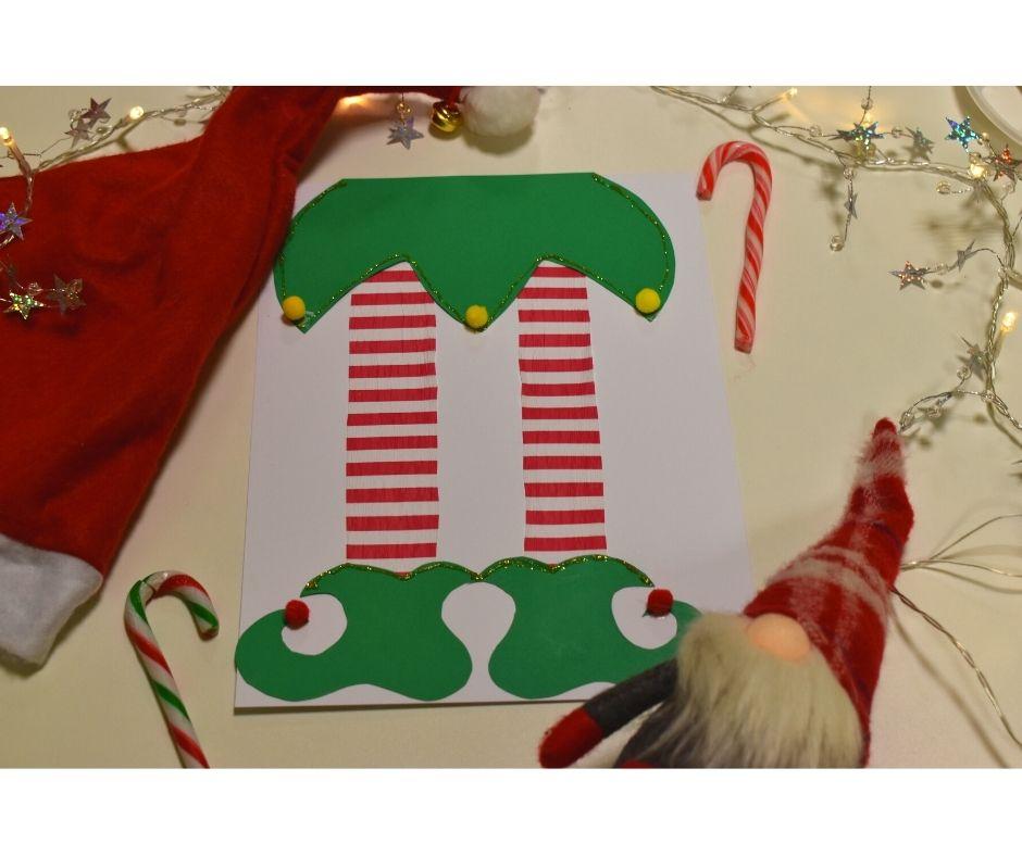 świąteczne prace plastyczne mikołaj elf skrzat