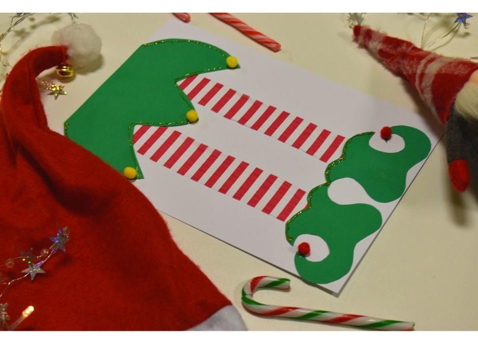 Elf- świąteczna praca plastyczna