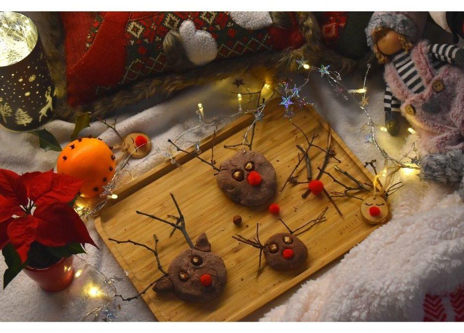 renifer diy z masy solnej ozdoby świąteczne dzieci