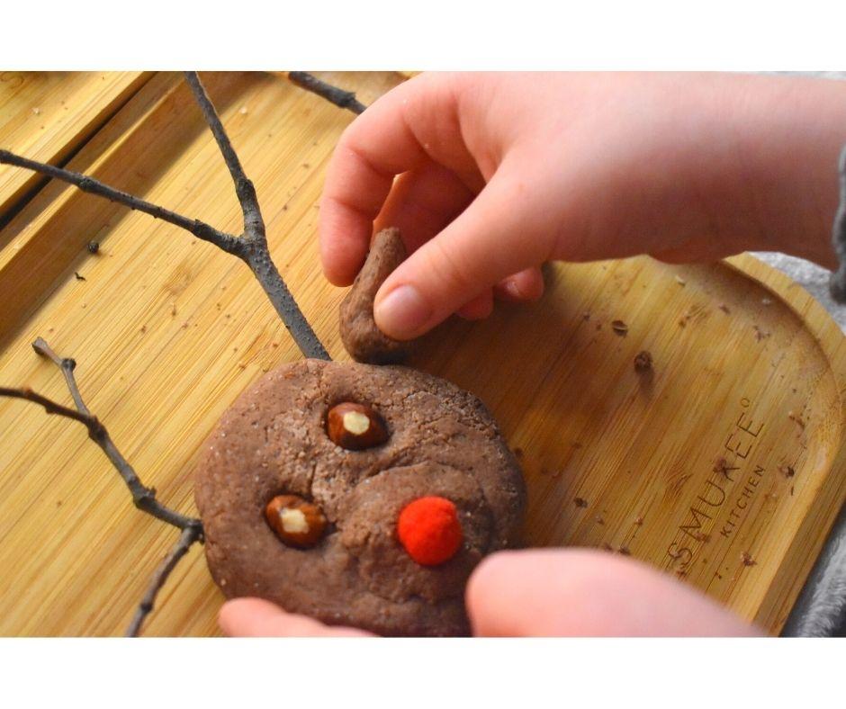 renifer masa solna ozdoby świąteczne dzieci