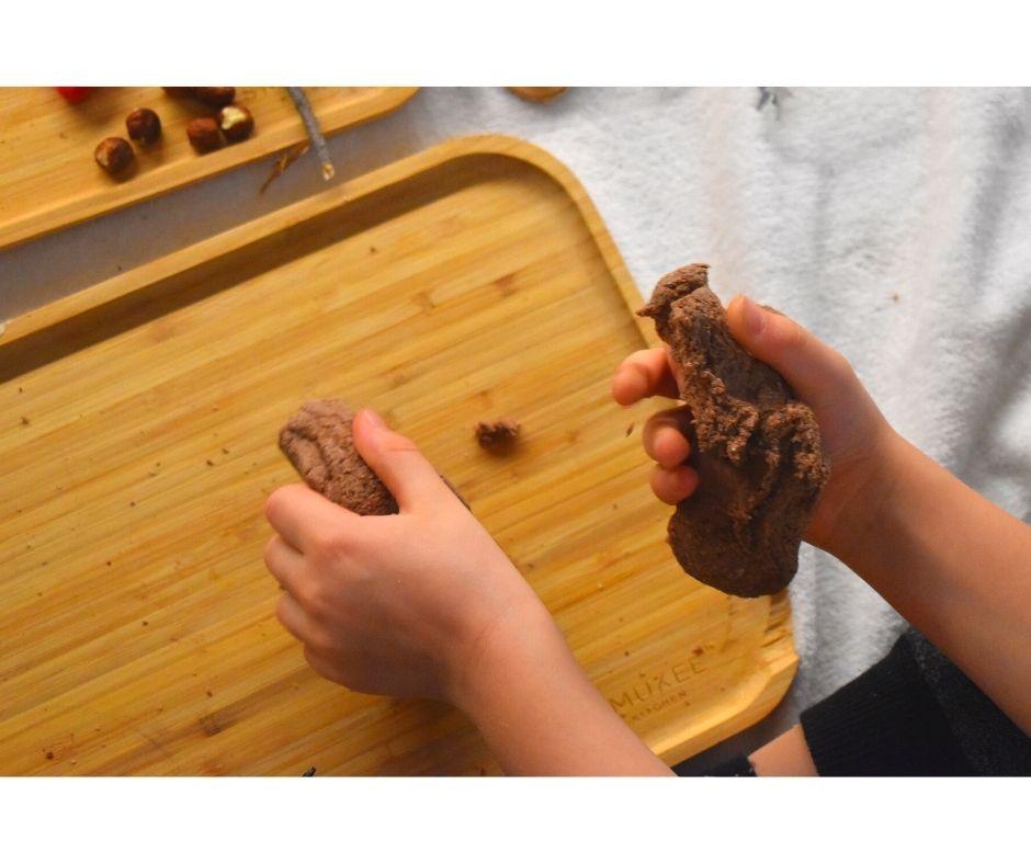 masa solna, kakaowa masa plastyczna