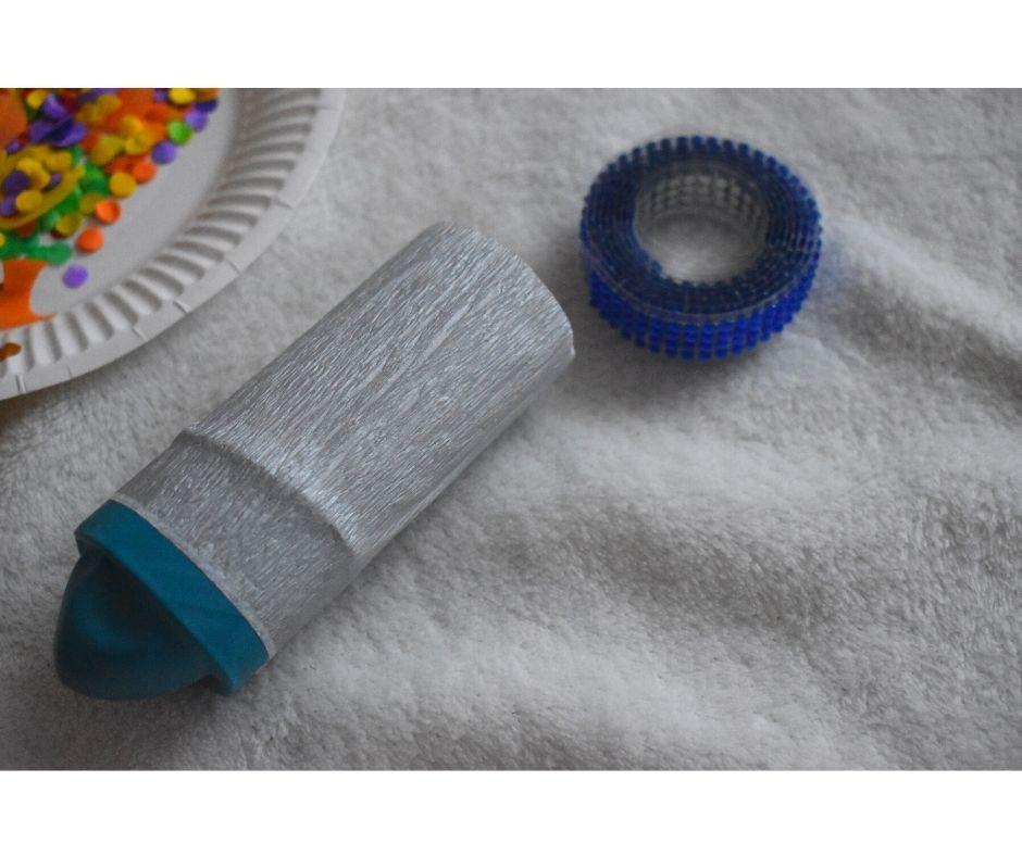tuba strzelająca konfetti jak zrobić