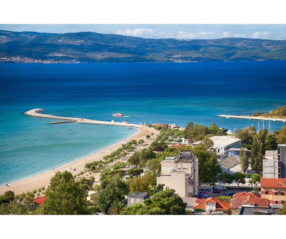 Chorwacja omis domy kwatery , gdzie nawakcje zdzieckiem