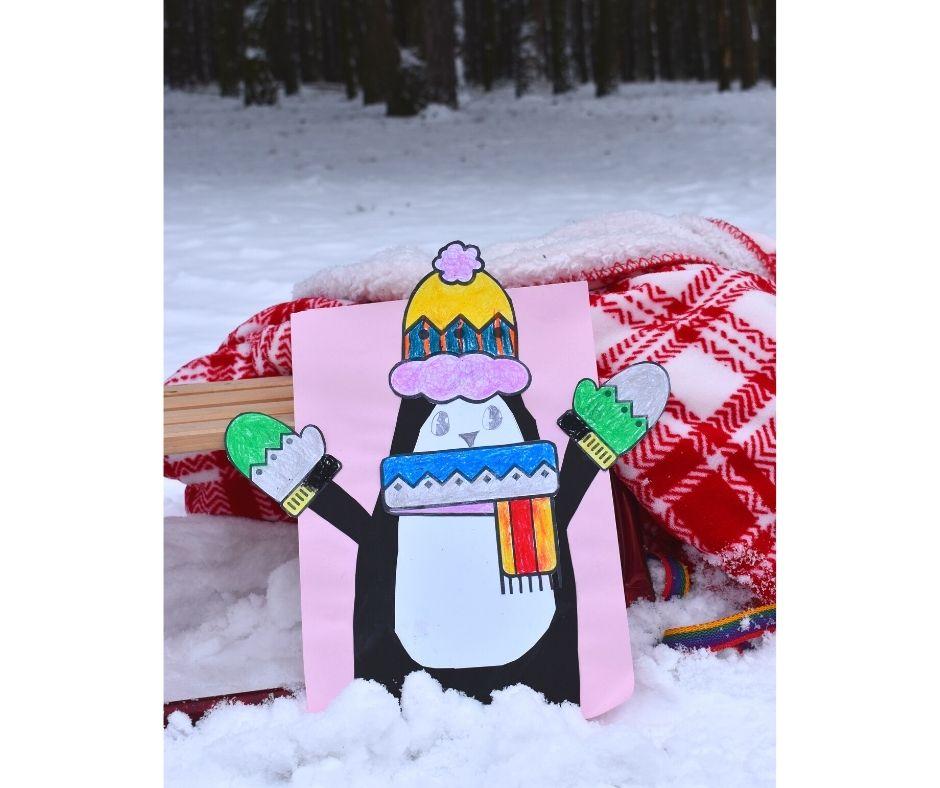 pingwin praca plastyczna