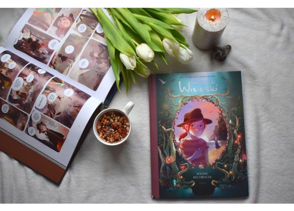 Pamiętniki Wisienki. Bogini bezoblicza – komiks dla dzieci