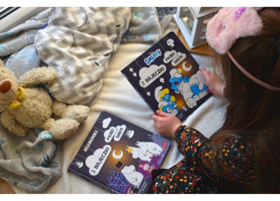 Smerfy muminki 3 bajeczki przed snem recenzja książki dla dzieci