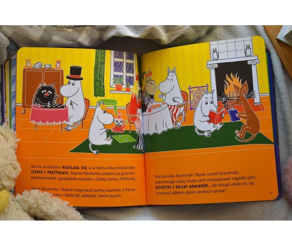 Smerfy muminki 3 bajeczki przedsnem recenzja książki dla dzieci
