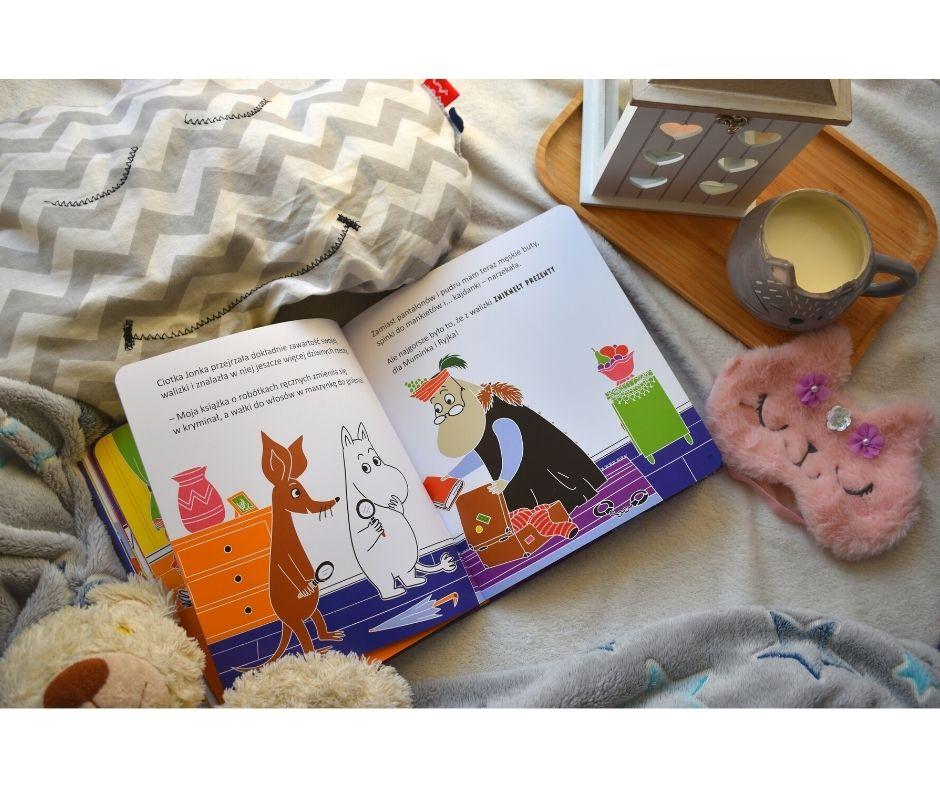 muminki bajki książka dla dzieci