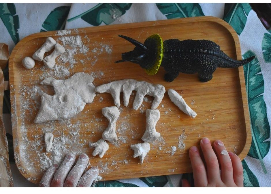 Dinozaury- kreatywna zabawa dla dzieci