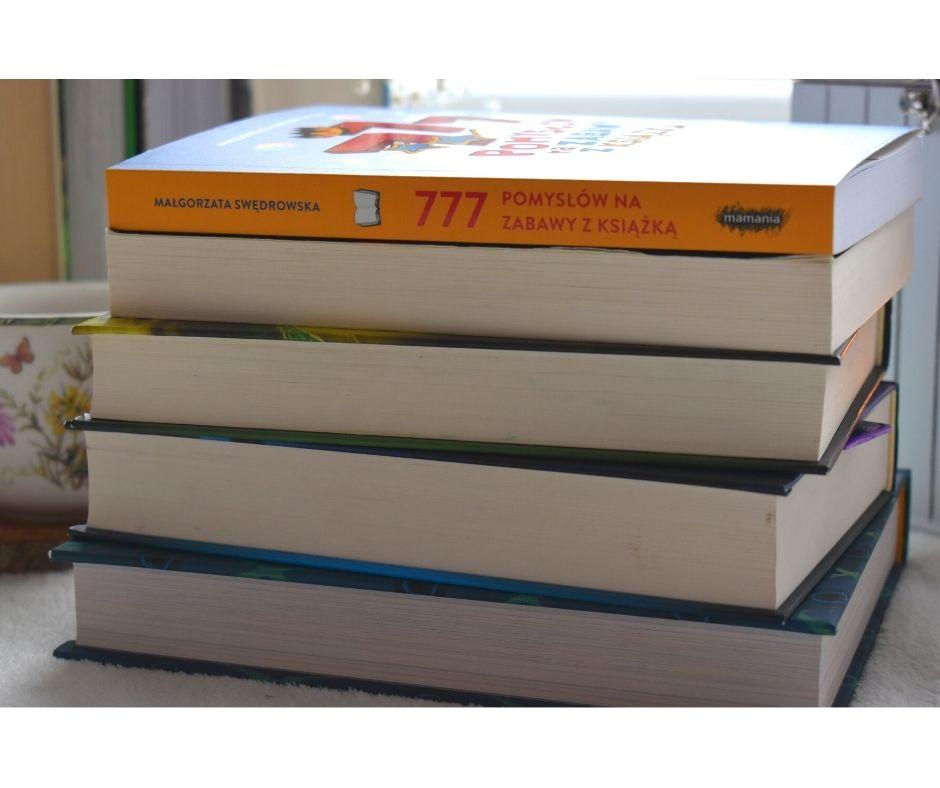 777 pomysłów nazabawy zksiążką recenzja opinie książki dla rodziców nauczycieli