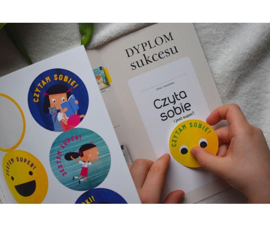 książki nauka czytania czytam sobie