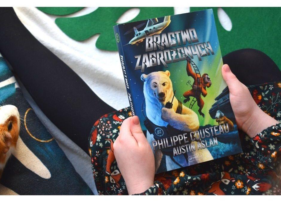 bractwo zagrożonych książka dla dzieci ekologia ochrona zwierząt