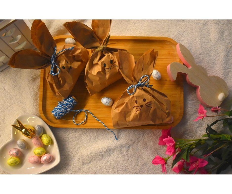 zając wielkanocny diy zajączek dla dzieci prezenty Wielkanoc